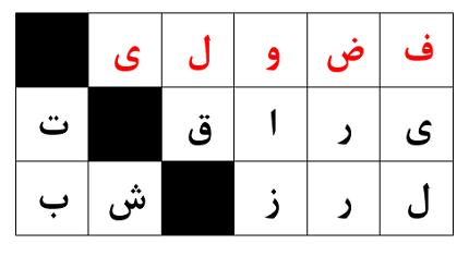 فضولی، از نوع ایرانی